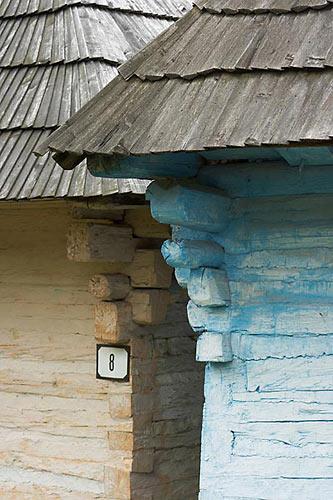 Vlkolínec, liptovská architektura