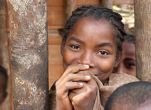 Malgašská dívka