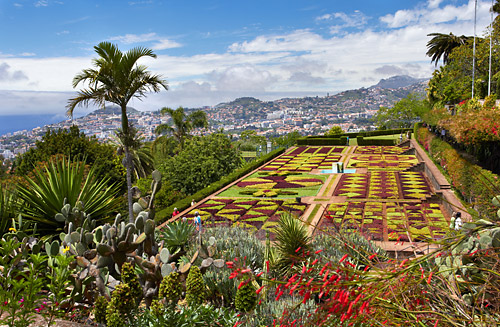 Botanická zahrada, Funchal