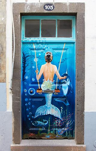 Víla na dveřích