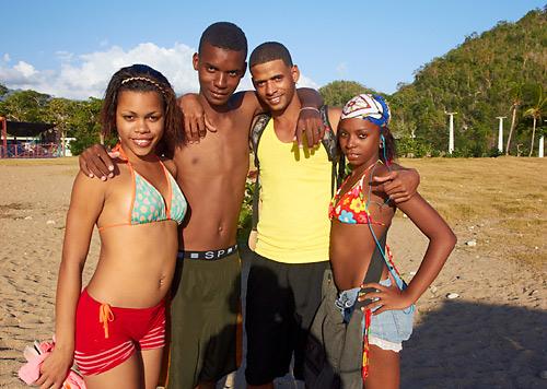 Mladí Kubánci