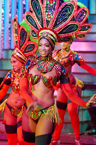 Tanečnice v kabaretu
