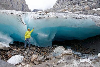 Ledovec Malý Aktru - srpen 2010