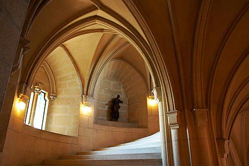 Bojnice - schodišťová věž
