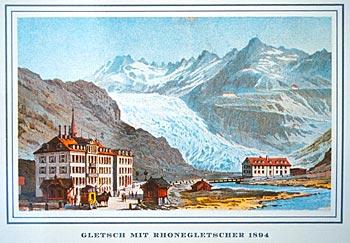Rhônegletscher 1894