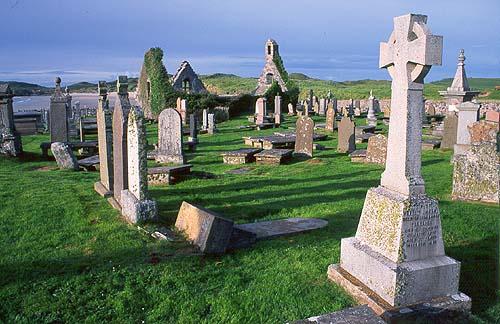 Stařičký hřbitov v Durness