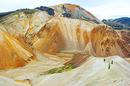 Landmannalaugar - duhové hory