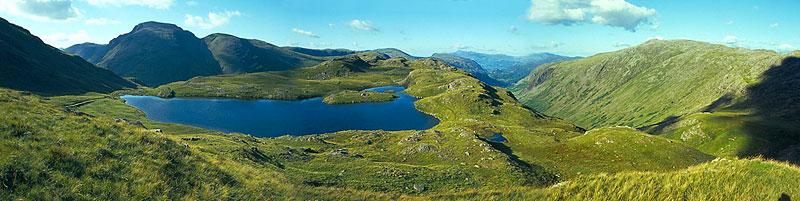Panorama hor v Lake District