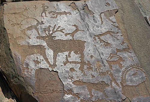 Petroglyfy Kalbak-Taš
