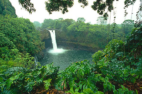 Vodopád Rainbow Falls