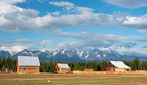 Altaj - Severočujský hřbet