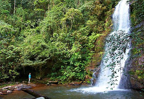 Vodopád v NP Ranomafana