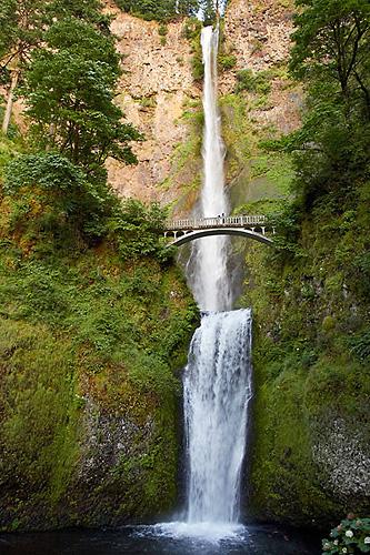 Vodopád Multnomah Falls