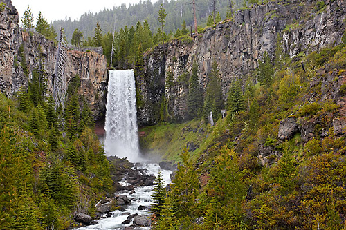 Vodopád Tumalo Falls