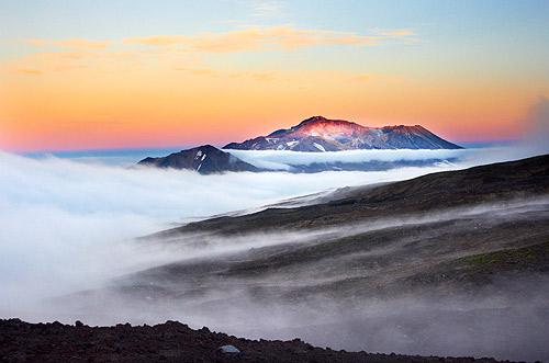 Mutnovskij vulkán