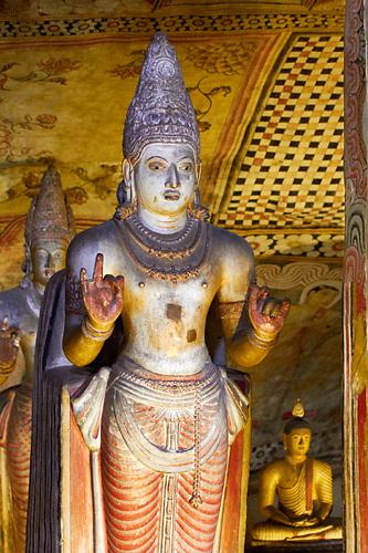 Dambulla – jeskynní chrám