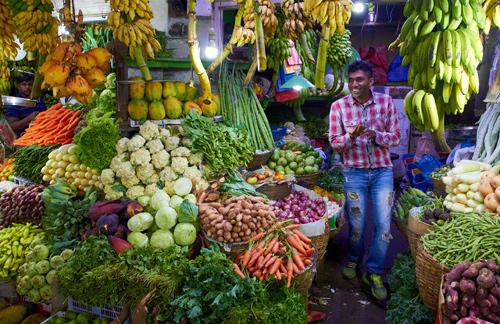 Tržnice v Nuwara Eliya